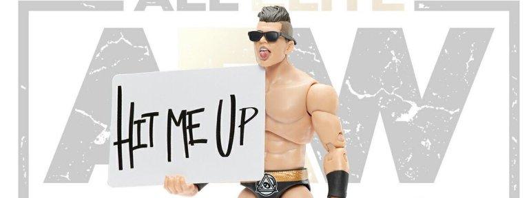 AEW Unrivaled Series 4 Photo Reveals: Ortiz - Wrestling